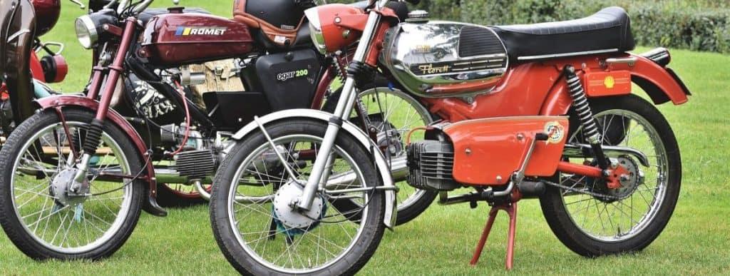 Retro electric bikes